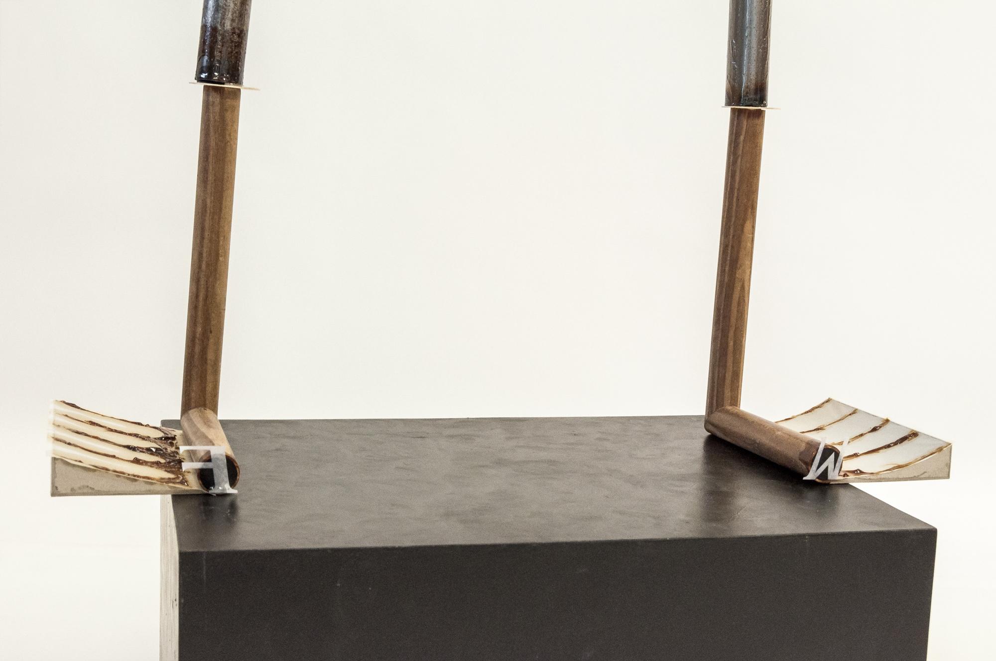 FW │ metal, wood, cardboard, paper │ 2020 │ 77cm x 67cm x 42cm