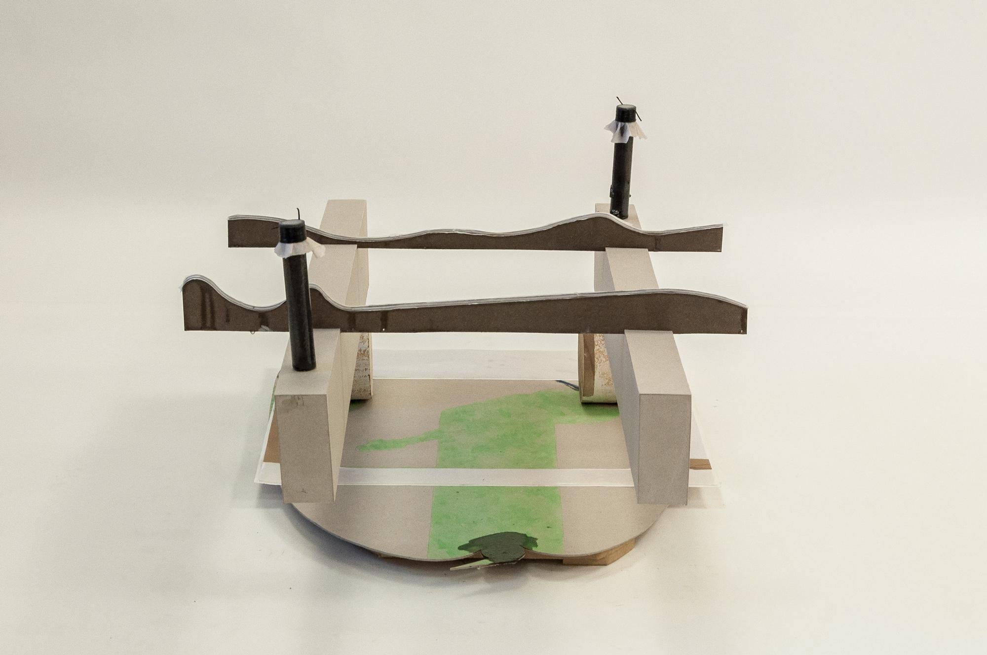 штром │ metal, wood, plastic, cardboard, paper, fabric │ 2020 │ 38cm x 55cm x 75cm